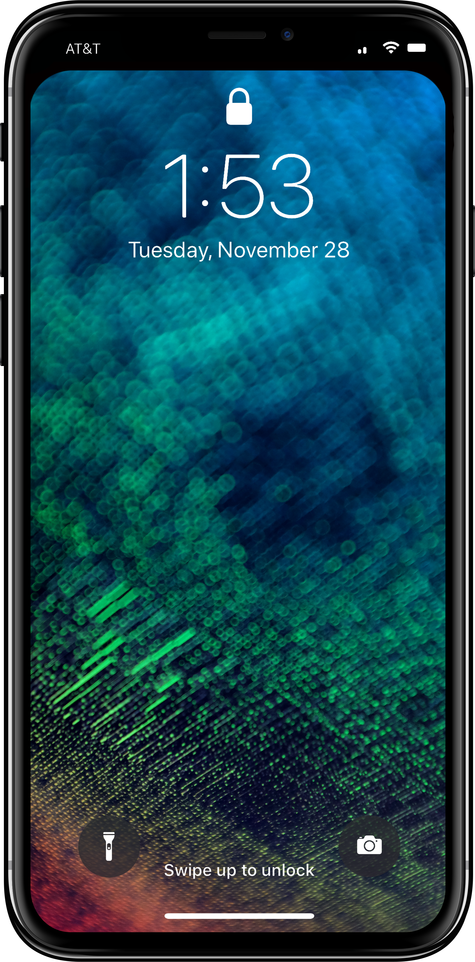 Notchless Wallpaper Template For Iphone X